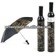 375ml black and printed glass vodka bottle