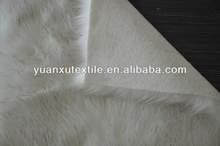 long pile acrylic plush faux fox fur