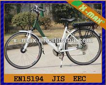 X-eb10 en15194 approvato e bici hub motori con 36v/10ah li-ion