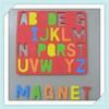 Souvenir Rubber Fridge Magnet Letters
