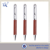 Creative Clip Best Selling Cheapest Leather Metal Ball Pen