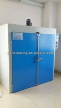 Drying oven for powder coating