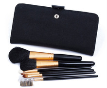 animal hair 6pcs make up brush tools