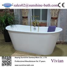 Freestanding bathtub cheap wooden boxes small corner bathtubs