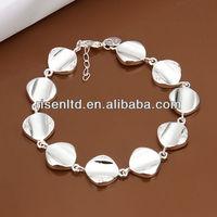 fashion young girls bracelets,fashion zircon bracelet metal bracelet H332