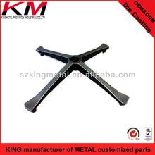 China diecast aluminum office chair legs