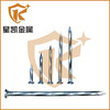 China Hot Conduct Concrete Nails In Building Materials