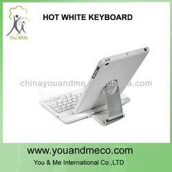 portable 360 degree swivel bluetooth keyboard lifeproof for ipad mini case