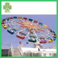 ferris anel carro de diversões parque de equipamentos para adultos