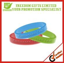 2014 New Pattern Promotional Bulk Cheap Silicone Wristband