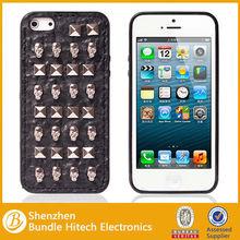 Full Plating Gold Skull Punk Design Hard Back Case Cover For iPhone 5 5G