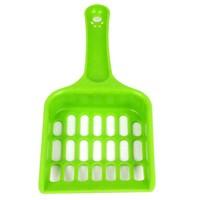 Free shipping! PP Plastic Pet Food Scoop Shovel Multi Plaid Cat Dog Food Quality Plastic Spoon