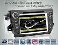 Lsqstar gps navigationfor mercedes benz w906/w169/w245/Viano/Vito(2006- 2012) con gps navigazione radio dvd mp3 bt bi-zona