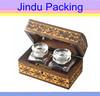 wooden delicate style handmade box perfume design