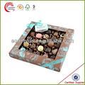 customed projeto novo chocolate embalagem da caixa de presente para o casamento em xangai