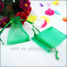2014 Hot Sell Wedding Party Organza Drawstring Favour Pouches Bags