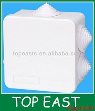 Hot sales!PVC Waterproof electrical junction boxes 50*50mm cheaper price