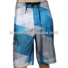 Hot sell summer surf board shorts/swimwear sublimation cheap waterproof beach shorts for men