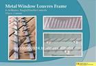 Metal Window Louvres Frame