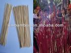 dia1.3mm bamboo raw matirial unscent incense stick