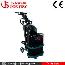 JS-550 floor grinder for epoxy coating