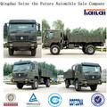 Sinotruk HOWO 4x4 en todas las ruedas del vehículo Camión de Carga / Calidad Militar