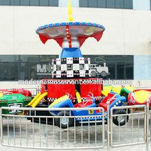 Playground kids bounce car lunapark attraction