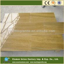 China Wood Grain Yellow Marble Stone