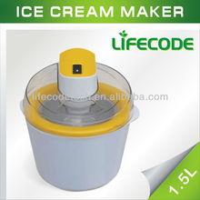 ice cream maker in manual wood