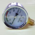 Utility water pressure gauge