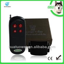 Hot sale electronic anti-bark pet training shock collar (HT-021)