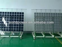 80W 100W Monocrystalline Silicon BIPV Solar Panel Glass