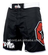 Atacado calções arte marcial shorts combate