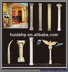 China Huida Low Price Fiberglass Decorative Roman Round Column