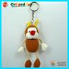 Fashional Style plush little animals keychain toys