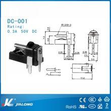 new style power socket switch DC-001 50V 0.3A