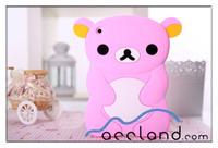 Rilakkuma Bear for iPad Mini Cute Animal Shaped Silicone Case