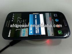 Qi wireless charger round mini pad