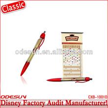 Disney factory audit manufacturer's retractable banner pens 142168