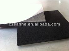 Cushion rubber foam, NBR/PVC rubber foam insulation, black foam rubber sheet
