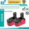 18V 3.0Ah Ni-MH Battery for Bosch 1644 1662K 1659K 1668K 3860K 3870, fits BAT160 BAT025 BAT026 GDS 18 V-HT GSR 18 VE-2