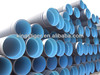 SN4 SN8 Double wall corrugated hdpe plastic sewage pipe