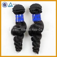 XBL Hair new arrival Romance curly Peruvian virgin hair extention