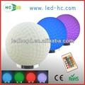 produto novo a bola de golfe em forma de controle remoto infravermelho dia dos namorados dom led de controle remoto de iluminação rgb lâmpada decoração
