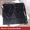 Newstar black marble with white veins