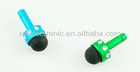 Mini Metal Diamond Stylus Dust Plug Cap Cover Headphone Jack Pen For iPhone/iPad/iPod , stylus pen, with earphone plug