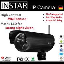 HD H.264 MJPEG IP monitoring camera operated on iPhone / iPad / Android / Windows Phone /PC