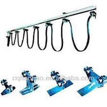 C-Track suspension system for crane