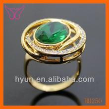 Fashion Emerald Green Cz Ring Fashion Green Lantern Wedding Ring