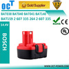 Power tool battery for BOSCH 14.4 V 13614-2G Cordless Drill Batteries for BOSCH GSR 14.4 VE-2
